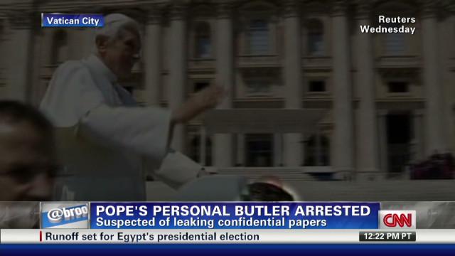 Vatican butler's arrest