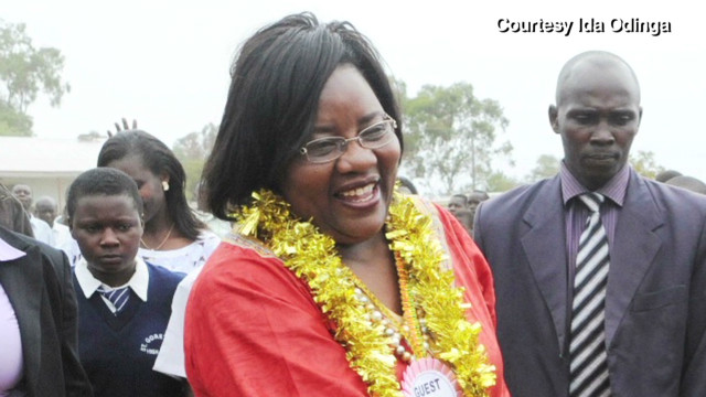 Raila Odinga hails wife's strength