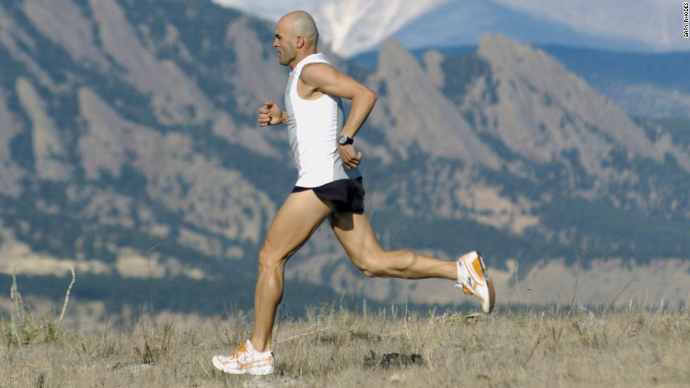 Iran's Reza Baluchi left his homeland at the age of eight and has been running ever since.