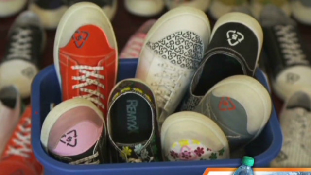Go Green: New shoes you can recycle