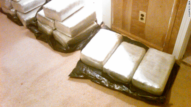 At the house in an unassuming High Point neighborhood, authorities found trash bags with 115 pounds of marijuana.