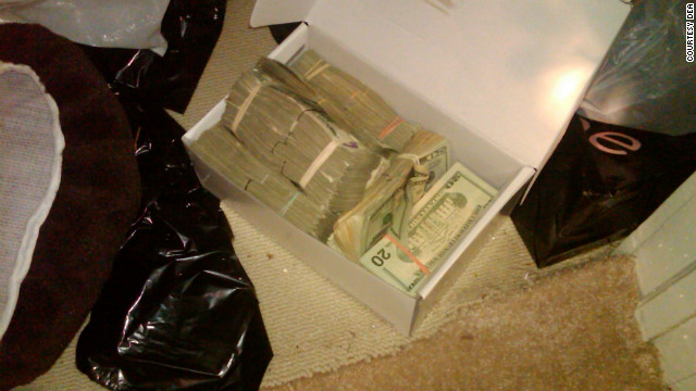 Also in the High Point home was a ledger and a shoebox containing $76,899 in cash, the DEA says.