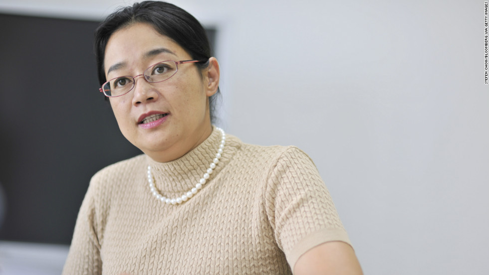 """Baidu's Jennifer Li offers some tough love: """"We as women, we need to start and act; not thinking about the issues -- because I feel gender in the work environment should not be a factor when it comes to how far you can go."""""""