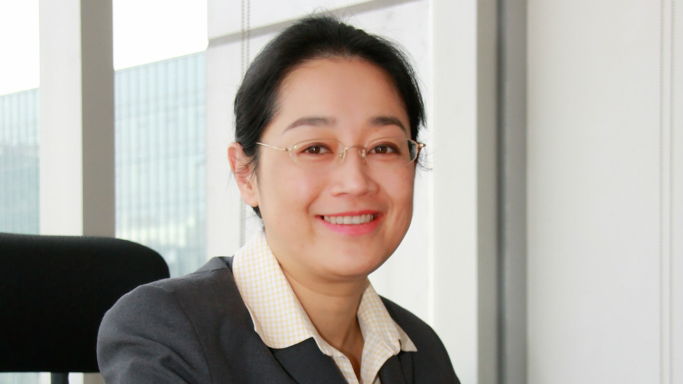 """Li pictured during her first few days at Baidu in 2008, then a young, fast-growing company. """"When I joined the company, we had about 6,000 people, now we have 16,000 people, so the company -- throughout the past four years -- has transformed tremendously."""""""
