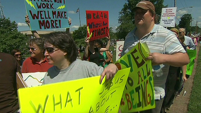 Anti-gay sermon sparks protests