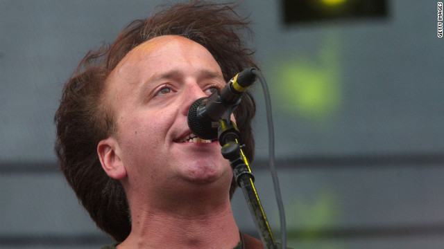 Aaron Freeman aka Gene Ween of Ween is shown here performing at the Austin City Limits Music Festival in 2006.