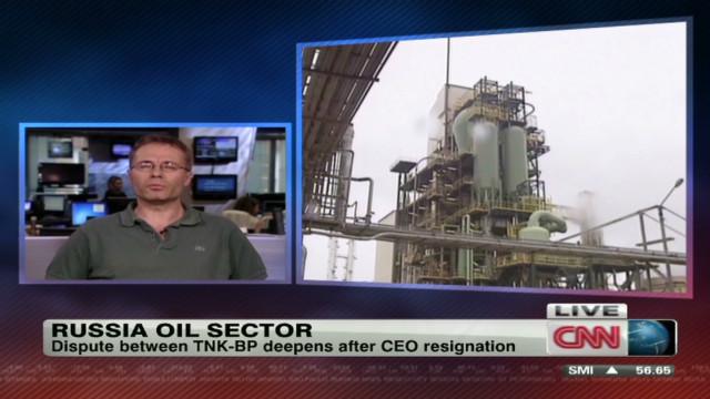 TNK-BP shareholder dispute deepening