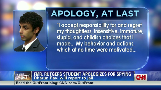 "Dharun Ravi: ""accepts responsibility"""