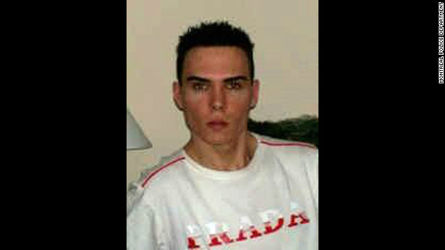 Luka Rocco Magnotta, 29, is suspected in the killing of his acquaintance and the mailing of his body parts, authorities say.