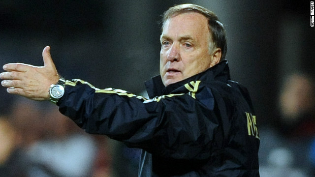 Head coach: Dick Advocaat