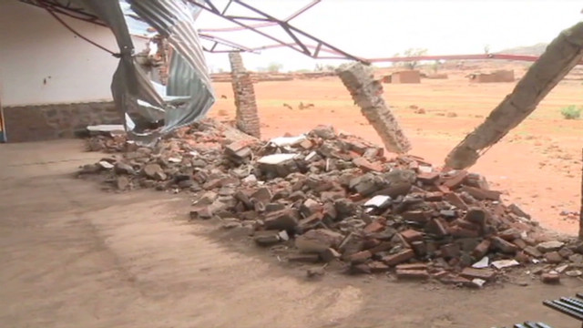 Cluster bombs terrorize Sudan villages