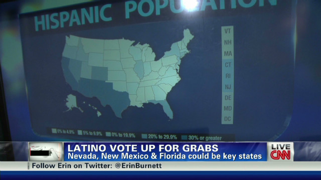 Latino vote up for grabs