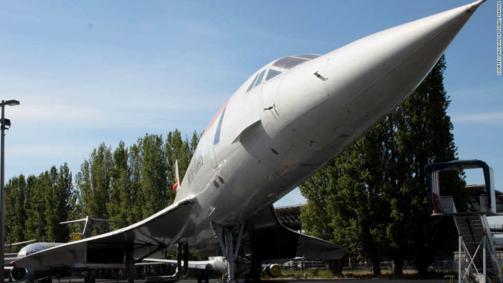 "This aircraft ended an era in aviation history. It flew the final Concorde commercial flight, when the supersonic fleet was retired in 2003. While making its journey to the museum, the British Airways jet set a New York-to-Seattle speed record of 3 hours, 55 minutes, and 12 seconds, <a href=""http://www.museumofflight.org/concorde"" target=""_blank"">the museum says</a>."