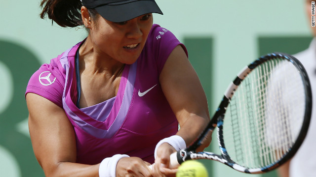 World No.7 Li Na became China's first grand slam champion when she won the 2011 French Open.