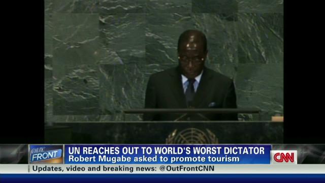 UN's controversial pick: Robert Mugabe