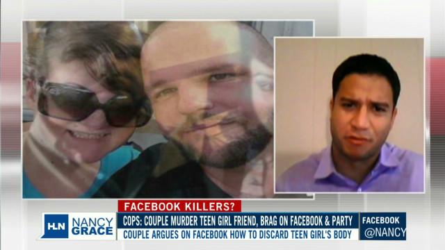 Cops: Couple kills teen, got on Facebook
