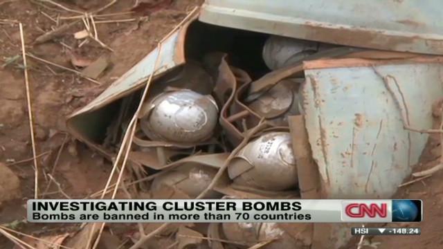 Sudan denies it uses cluster bombs