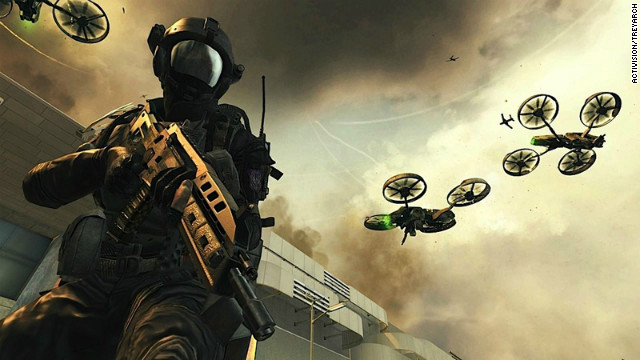"""Call of Duty: Black Ops II,"" due in November, spans a cinematic storyline that propels the action into 2025."