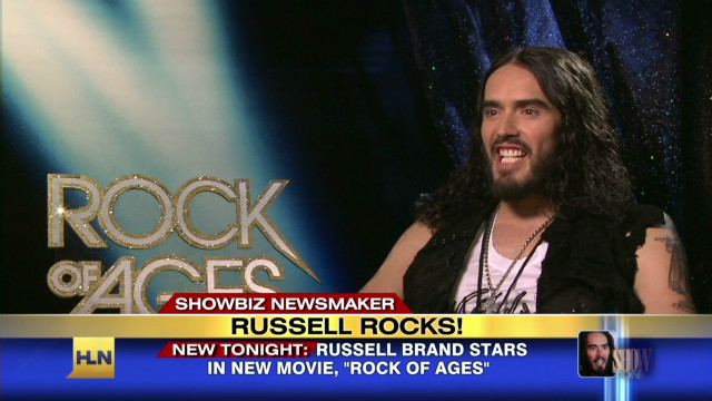 Russell Brand on 'Rock of Ages'