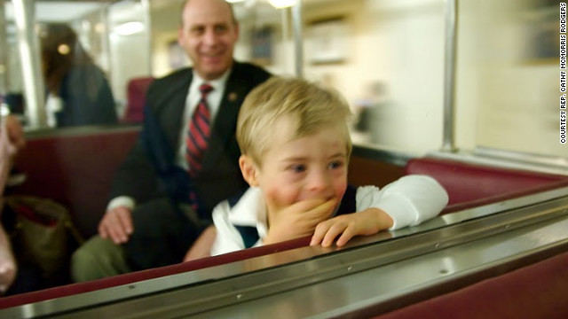 Cole Rodgers is the 5-year-old son of U.S. Rep. Cathy McMorris Rodgers and her husband, Brian Rodgers.