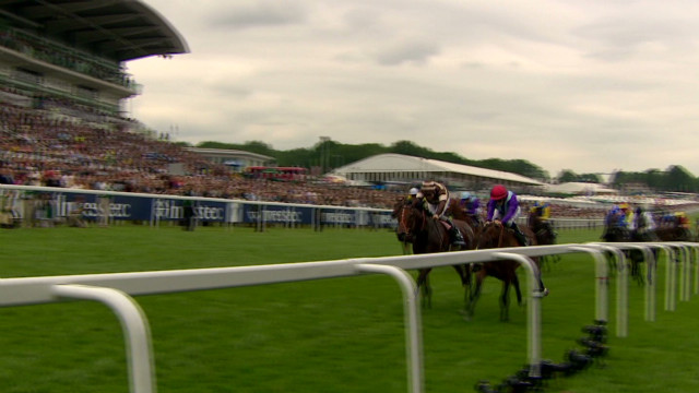 The Queen visits the Epsom Derby