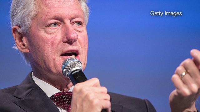 Clinton calls Romney's career 'sterling'