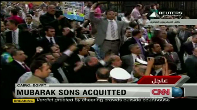Mubarak courtroom erupts in chaos