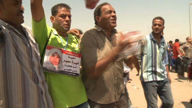 Joy and anger after Mubarak verdict