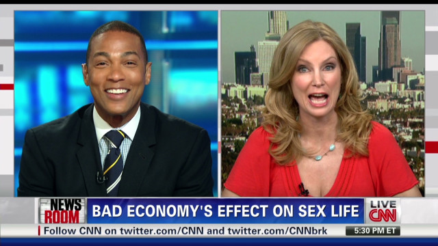 Bad economy's effect on sex life