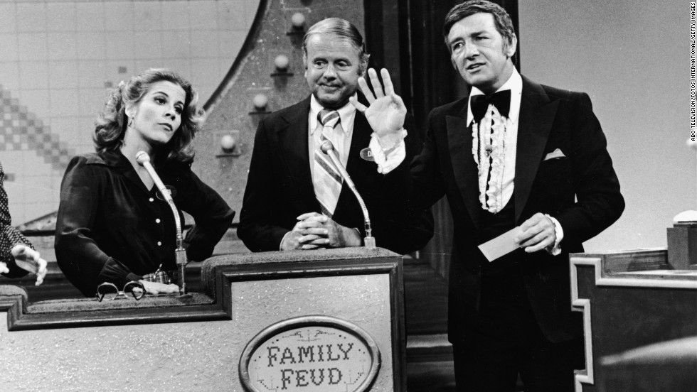 "Dawson on an episode of ""Family Feud"" in April 1978. He hosted the popular game show from 1976 until 1985 and an additional season in 1994-95."