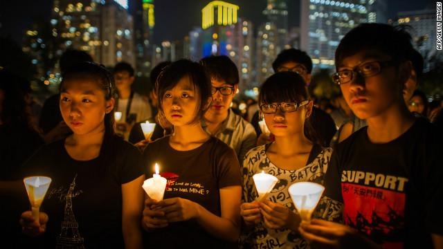 Tiananmen survivor looks back