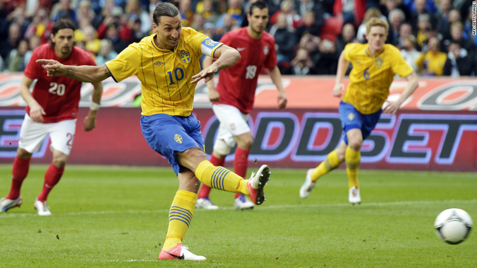 <strong>05/06/2012 - Ibrahimovic on the spot:</strong> Sweden beat Serbia 2-1 in a pre-Euro 2012 friendly in Stockholm, as striker Zlatan Ibrahimovic scores the winner from the penalty spot. Tournament co-hosts Ukraine lost 2-0 to Turkey, while Karim Benzema scored twice as France beat Estonia 4-0.