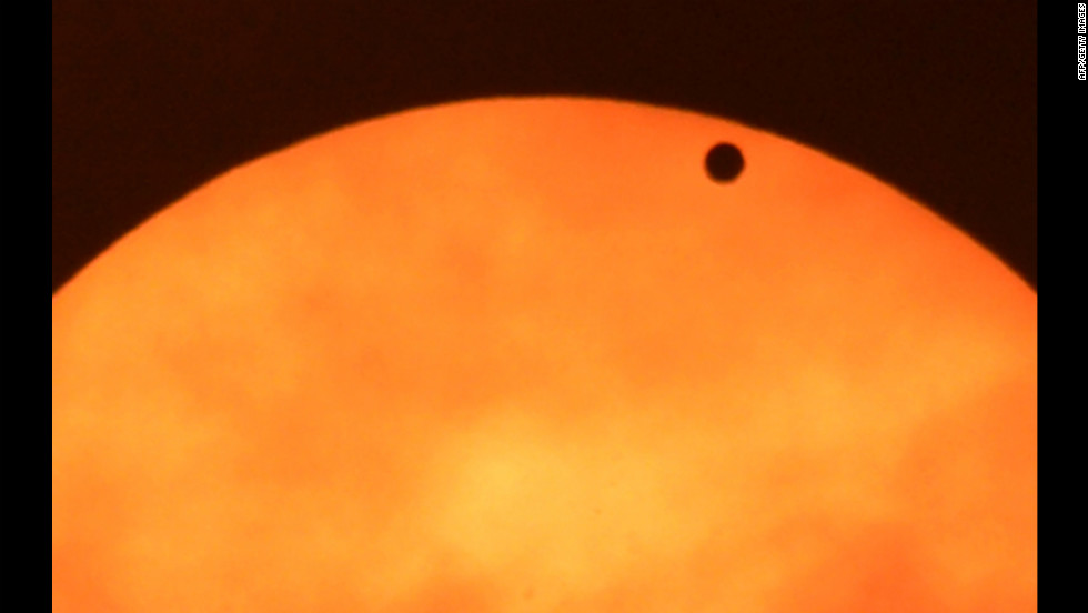 Venus last passed between the sun and Earth in 2004. It won't happen again for 105 years.