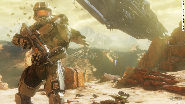"""Halo,"" the sci-fi action video game franchise, will become a TV series for Microsoft's Xbox."