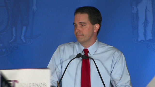 Walker: 'Time to move Wisconsin forward'