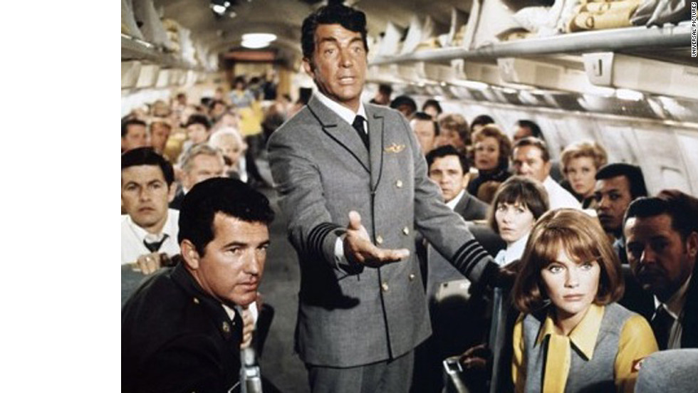 "Kicking off the popular disaster genre, 1970's ""Airport"" stars Burt Lancaster, Dean Martin, Jacqueline Bisset and Helen Hayes. With an estimated budget of $10 million, ""Airport"" grossed more than $100 million domestically. The film earned Hayes an Oscar for best actress in a supporting role."