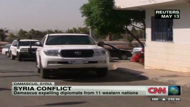 Syria boots diplomats from country