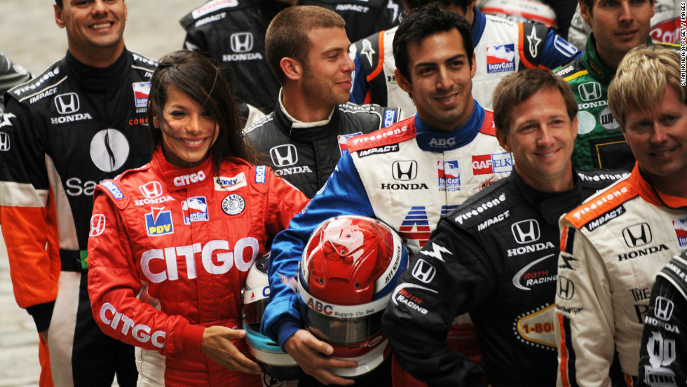 "In 2007, Duno made the transition to Indycar racing -- the premier league of U.S. American open wheel racing. ""Whether you are a race car driver or working as an engineer or in an office, you have to see what you want, and believe that you can do it,"" she says."