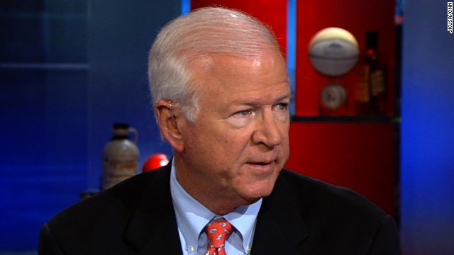 Sen. Saxby Chambliss is the ranking Republican on the Senate Intelligence Committee.