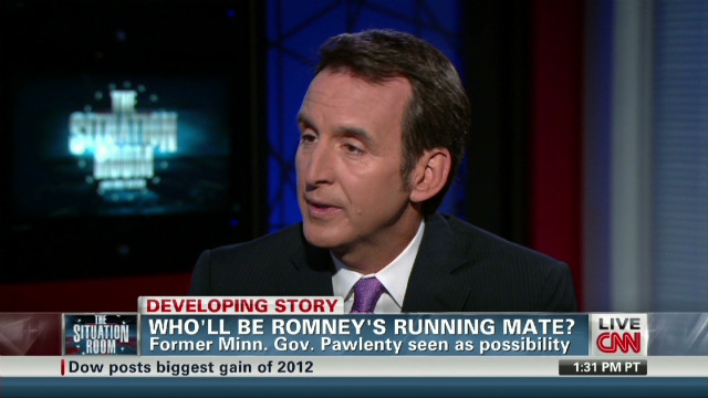 Pawlenty on being vice president
