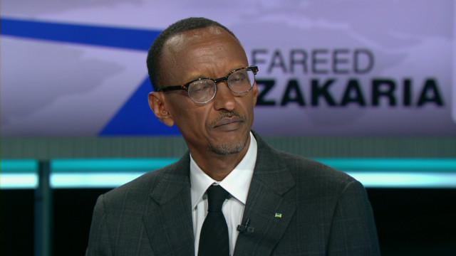 Rwanda's president talks Joseph Kony