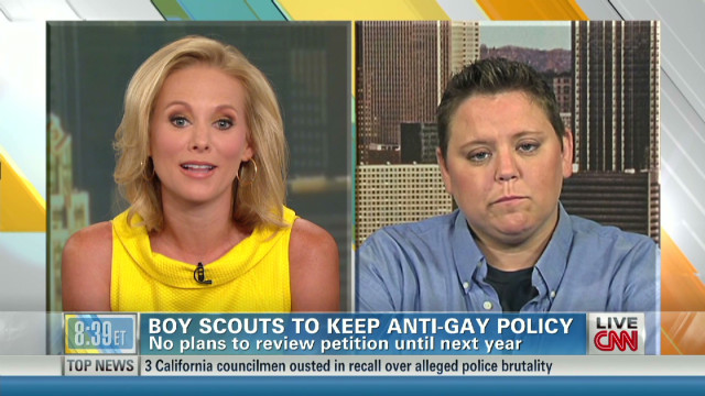 Fighting for equality in Boy Scouts