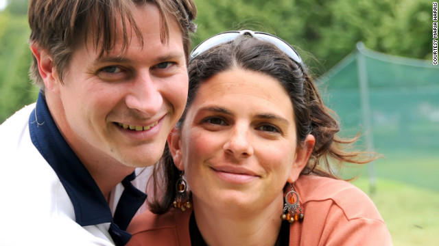 Zachary and Mariana Sears met on a train in Europe.