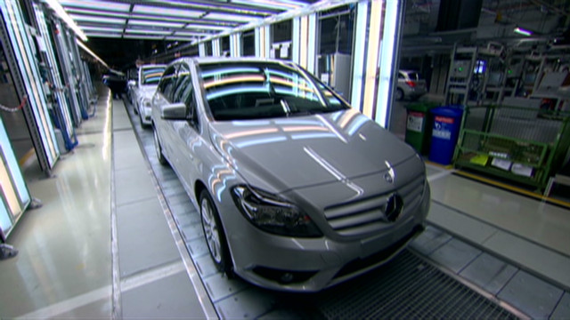 Daimler's Hungarian assembly line