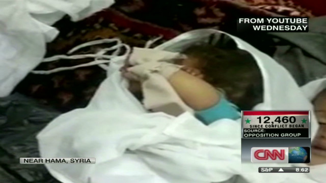 Gruesome video shows horrors in Syria