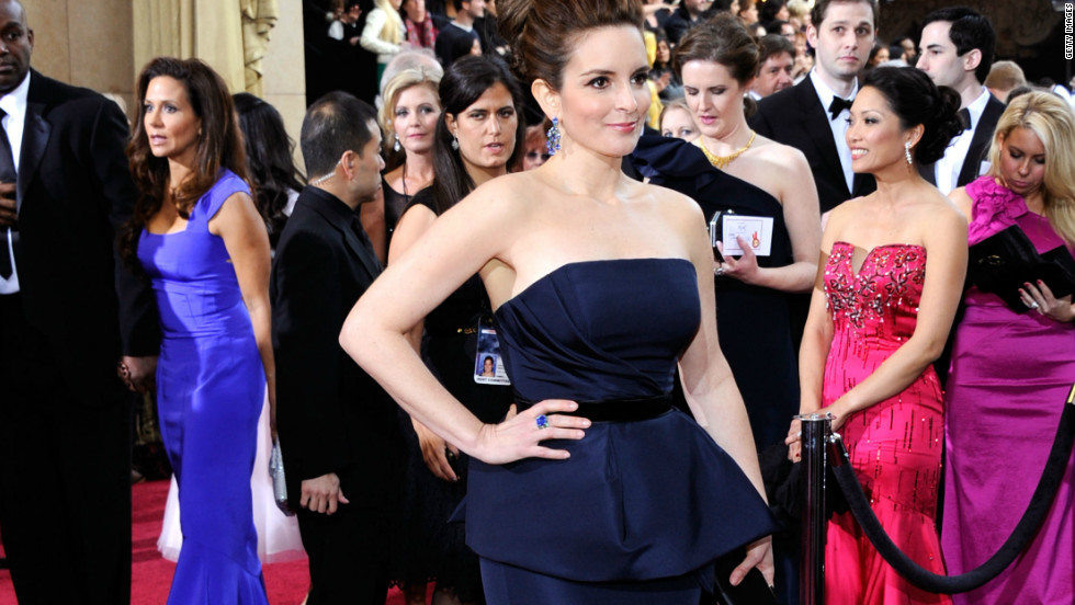 "Tina Fey: ""Spanx. It's my dream come true."""