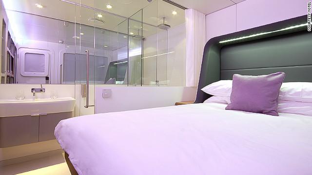A Yotel premium cabin.