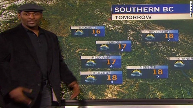 Metta World Peace forecasts the weather