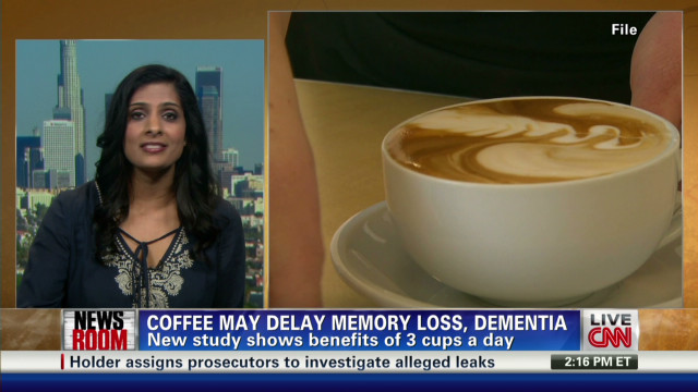 Coffee may delay onset of  Alzheimer's