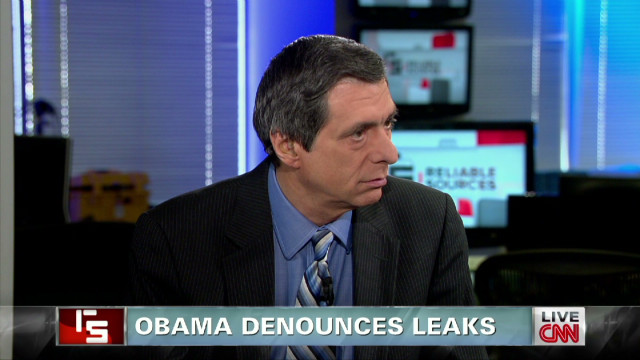 Obama denounces leaks